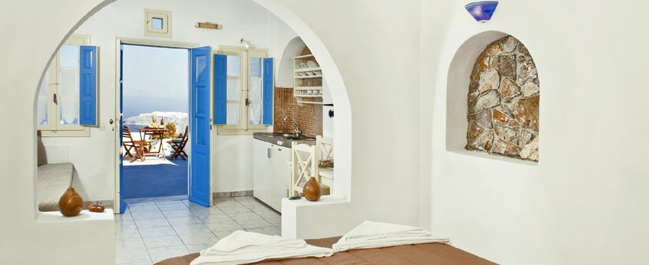 Kasimatis Studios Hotel Santorini - Sistemazione in Imerovigli ...